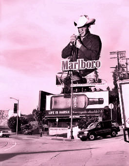 Smoking Cowboy Billboard