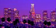 Los Angeles Skyline by night